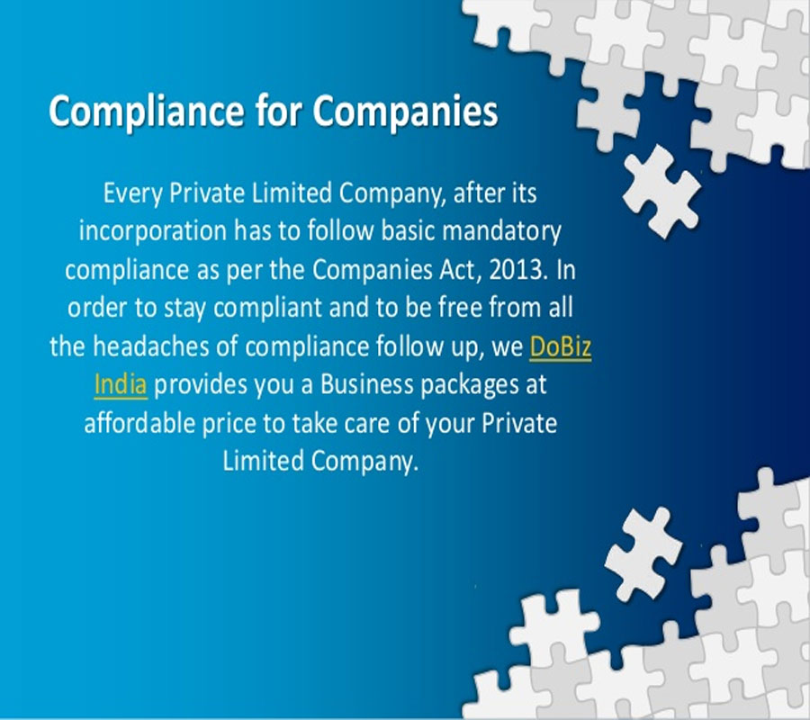 Post Incorporation Compliances for Companies under Companies Act 2013