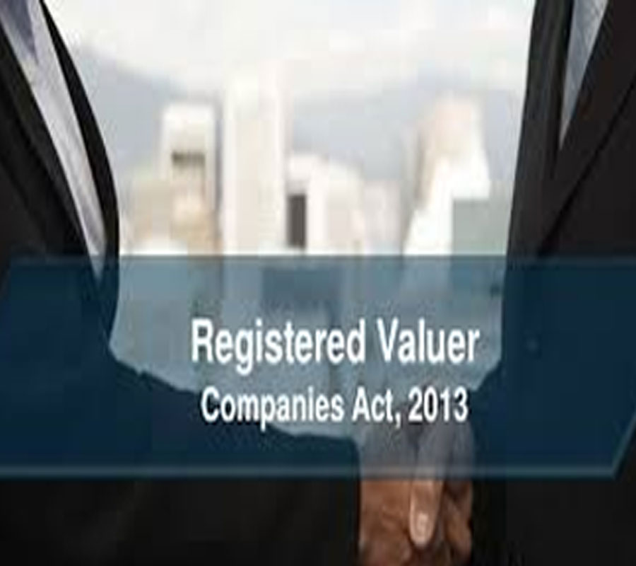 Registered Valuer under Companies Act 2013